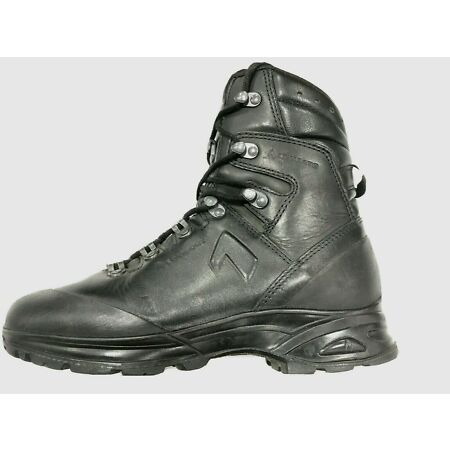 img-Haix Combat Gore-Tex Black Leather Boots SF German Army Issue *Grade 1*