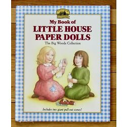 My Book of LITTLE HOUSE PAPER DOLLS The Big Woods Collection Sealed NEW L1
