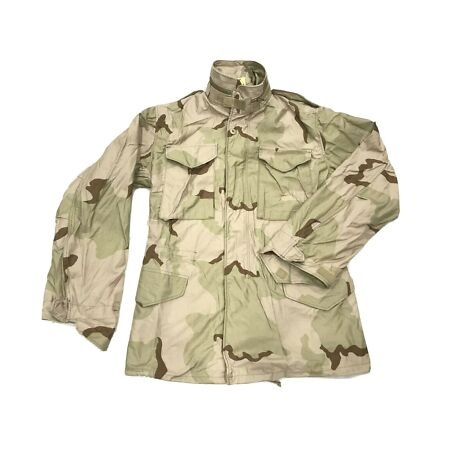 img-U.S Military M65 Coat Cold Weather Field Desert Camouflage Size Small/Long #3201