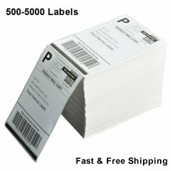 For Rollo & Zebra Fanfold 4x6 Perforated Direct Thermal Address Shipping Labels