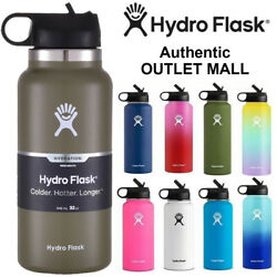 Kyпить Hydro Flask Stainless Steel Water Bottle Thermos Icy Cold Straw Lid Drinking US на еВаy.соm