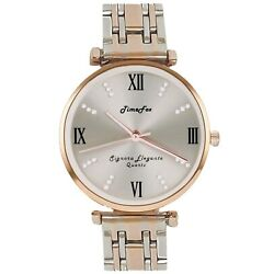 Kyпить Elegant RoseGold & Silver Shine TimeFox Women's Watch,Sunray,Gems,Stainless,3ATM на еВаy.соm
