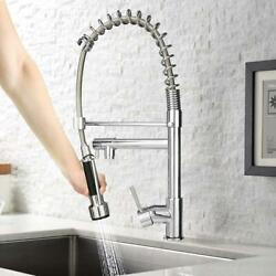 Kyпить Luckyermore Pull-Down Sprayer Kitchen Faucet Stainless Steel Spring Sink Mixer на еВаy.соm