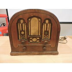 Kyпить VINTAGE Atwater Kent Cathedral Radio Model 708 на еВаy.соm