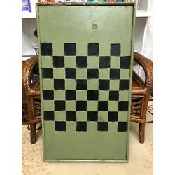 Kyпить Antique Two Sided Handcarved Wooden Inlaid Gameboard на еВаy.соm