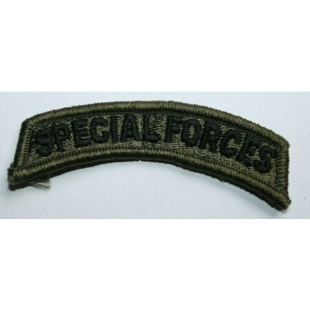 img-GENUINE US ARMY ISSUE PAINTBALL SPECIAL FORCES SUBDUED TAB INSIGNIA CLOTH