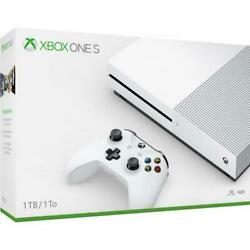 Kyпить Microsoft Xbox One S 1TB Console - White Xbox One S Console And Controller - AMD на еВаy.соm