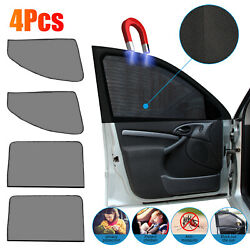 Kyпить 4X Magnetic Car Side Front Rear Window Sun Shade Cover Mesh Shield UV Protection на еВаy.соm