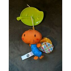 Kyпить Vtech Crib Mobile BUTTERFLY TOY Replacement Part Hanging Baby Plush Soft Orange на еВаy.соm