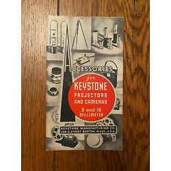 Kyпить New York World's Fair 1939 Keystone Exhibit Souvenir Camera Accessories Catalog  на еВаy.соm