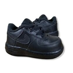 Kyпить Nike Toddler's Air Force 1 (TD) Shoes AUTHENTIC Black size 4 на еВаy.соm