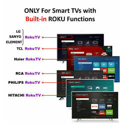 Kyпить New Replaced Remote FIT for Roku TV™ TCL/Sanyo/ Element/ Haier/ RCA/ LG/ Philips на еВаy.соm