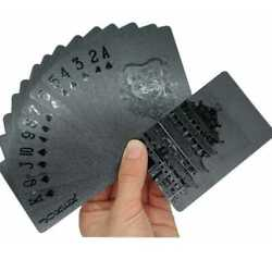 Kyпить Black Playing Cards Deck Frosting Black Diamond Poker Limited Edition US Party на еВаy.соm