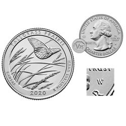 Kyпить 2020 W Tallgrass Prairie - V75 Privy - West Point Quarter Uncirculated на еВаy.соm