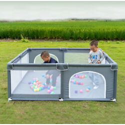 Kyпить Baby Safety Play Yard Kid Activity Center Foldable Large Playpen Fence Ball Pit на еВаy.соm