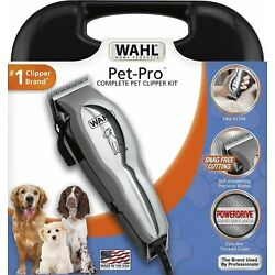 Kyпить WAHL Pet Pro Thick Heavy Duty  Hair Complete Dog Grooming Clipper 13 Pcs Kit на еВаy.соm