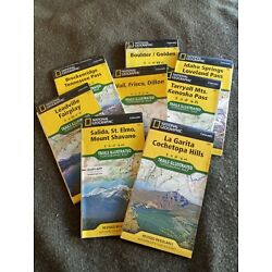 Kyпить National Geographic Colorado Illustrated Topographic Trail Maps (8) maps на еВаy.соm