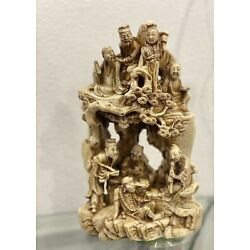 Kyпить vintage soapstone carving chinese Art на еВаy.соm