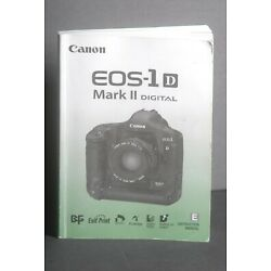 Kyпить Canon EOS 1D Mark II Camera Instruction Book / Manual / User Guide на еВаy.соm