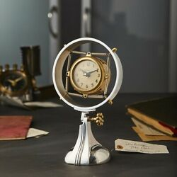 Kyпить Smithsonian Collection Replica 1930's Microphone Deco Pendulux Table Desk Clock  на еВаy.соm