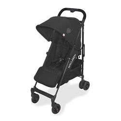 Maclaren 2020 Quest Arc Stroller in Black With Rain Cover! Slightly Damaged Box!