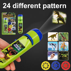 Educational Learning Toys Torch Night Projector Light for Toddlers Kids Boy Girl