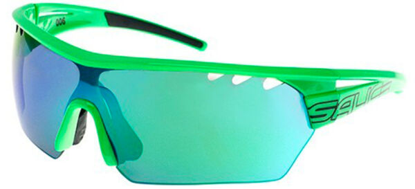 ItalienSalice 006 Green/Rw Green Mirror  Clear Spare Lens One Size unisex Sunglasses