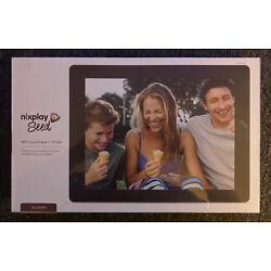 Kyпить Nixplay Seed WIFI Cloud Picture Frame 10 Inch Widescreen New! Sealed! Mulberry! на еВаy.соm