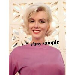 Kyпить MARILYN MONROE COLOR PHOTO - Hollywood 1950's Movie Star Actress на еВаy.соm