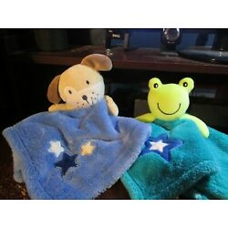 Kyпить Baby Gear frog & puppy security blanket (RARE) на еВаy.соm