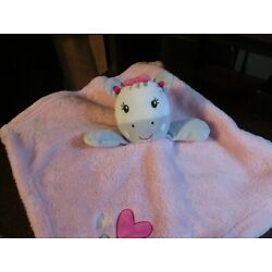 Kyпить Baby Gear white & pink heart zebra security blankets (RARE) на еВаy.соm