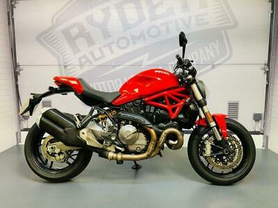 2018 - DUCATI MONSTER 821, IMMACULATE CONDITION, £7,695 OR FLEXIBLE FINANCE