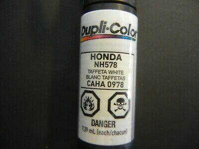 Duplicolor Honda NH578 Taffeta White CAHA0978 Scratch Fix All-in-1 Touch Up