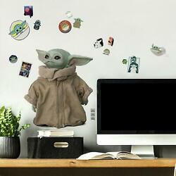 RoomMates Mandalorian Baby Yoda Child 25 Removable Wall Decals
