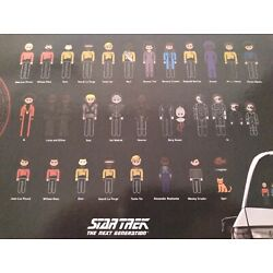 Star Trek TNG The Next Generation Family Car Decals- Picard Borg- Build Family