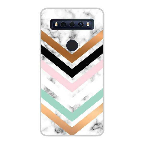 SpanienCase Cover  010 Drawing Design for TCL 10 SE TPU Gel Silicone