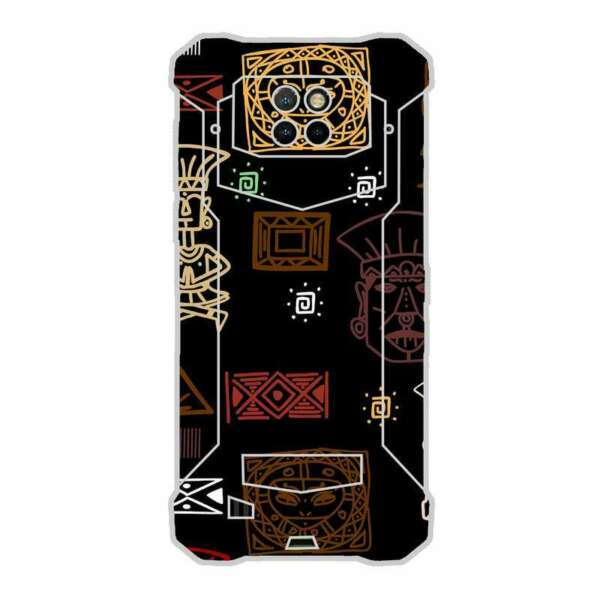SpanienCase Cover  001 Drawing Design for DOOGEE S88 PRO TPU Gel Silicone