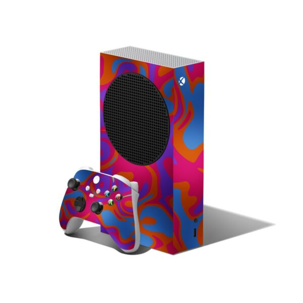 Portugal CAMO Skin to XBOX SERIES S Console Controller Wrap Decals Cover Sticker