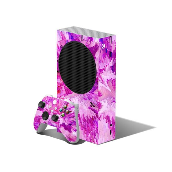 Portugal PINK Skin to XBOX SERIES S Console Controller Wrap Decals Cover Sticker