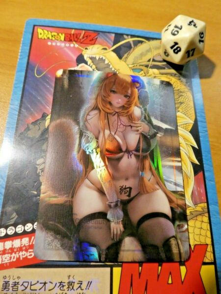 FrankreichACG ANIME CUSTOM FAN CARD ROBZ PRISM HOLO MIRROR CARTE GIRL 11 SEXY  MINT
