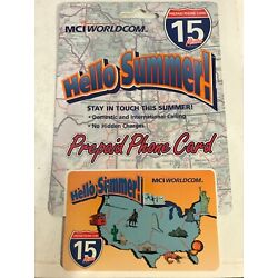 Kyпить Hello Summer! MCI WorldCom Collectible 15 Minute Phone Card, New In Package 1999 на еВаy.соm