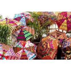 Kyпить Handmade Wedding Decor Parasols Home Garden Decor 5 Pc wholesale Lot Parasols на еВаy.соm