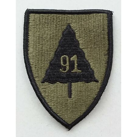 img-US ARMY PATCH 91st Infantry Division BDU Battle Uniform Badge United States USA