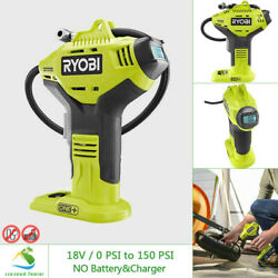 Kyпить RYOBI 18V High Pressure Inflator for Tires Digital Gauge Cordless w No Battery на еВаy.соm