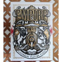 Empire Playing Cards New & Sealed Kings and Crooks Limited Edition USPCC Deck