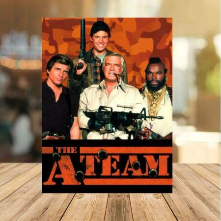 img-80`s tv The A Team Metal Sign Man Cave Home Bar Beer Garden Classic Bar Sign Pub