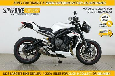 2018 18 TRIUMPH STREET TRIPLE 765 RS - BUY ONLINE 24 HOURS A DAY