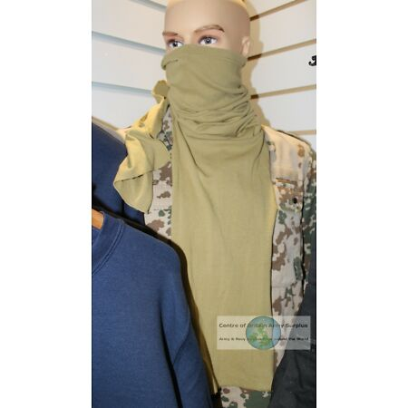 img-GENUINE DUTCH ARMY LONG TUBE SCARF FACE MASK