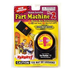 Kyпить NEW - Remote Control Fart Machine #2 by T.J. Wiseman - FREE SHIPPING на еВаy.соm