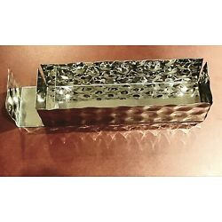 Kyпить ALESSI for Delta Airlines Bar Caddy Stainless Steel Chrome Divided Holder на еВаy.соm